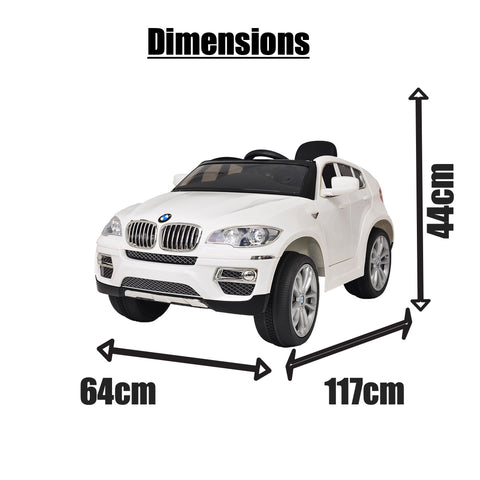 Image of 12V BMW X6 ride on kids electric car