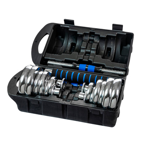 20KG-Adjustable-Dumbell weight Set
