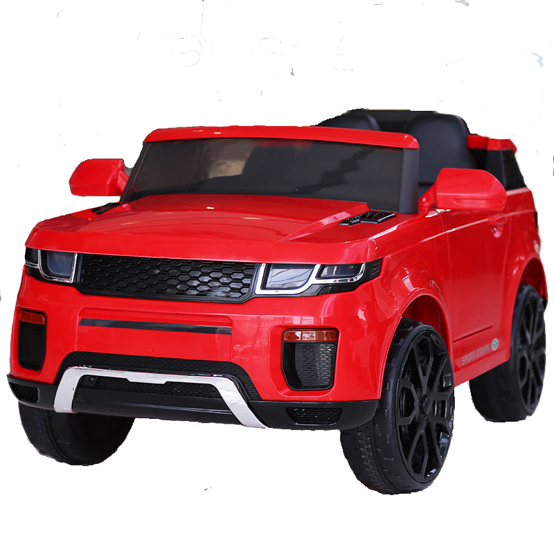Demo 12V Evoque replica kids electric ride on car- Red