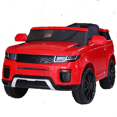 Image of Demo 12V Evoque replica kids electric ride on car- Red