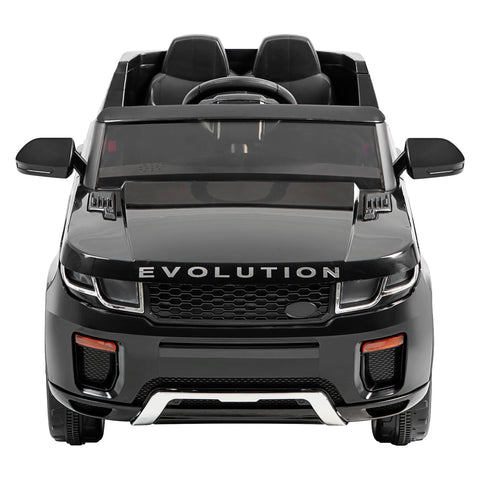Image of 12V Evoque replica kids ride on car- Blk
