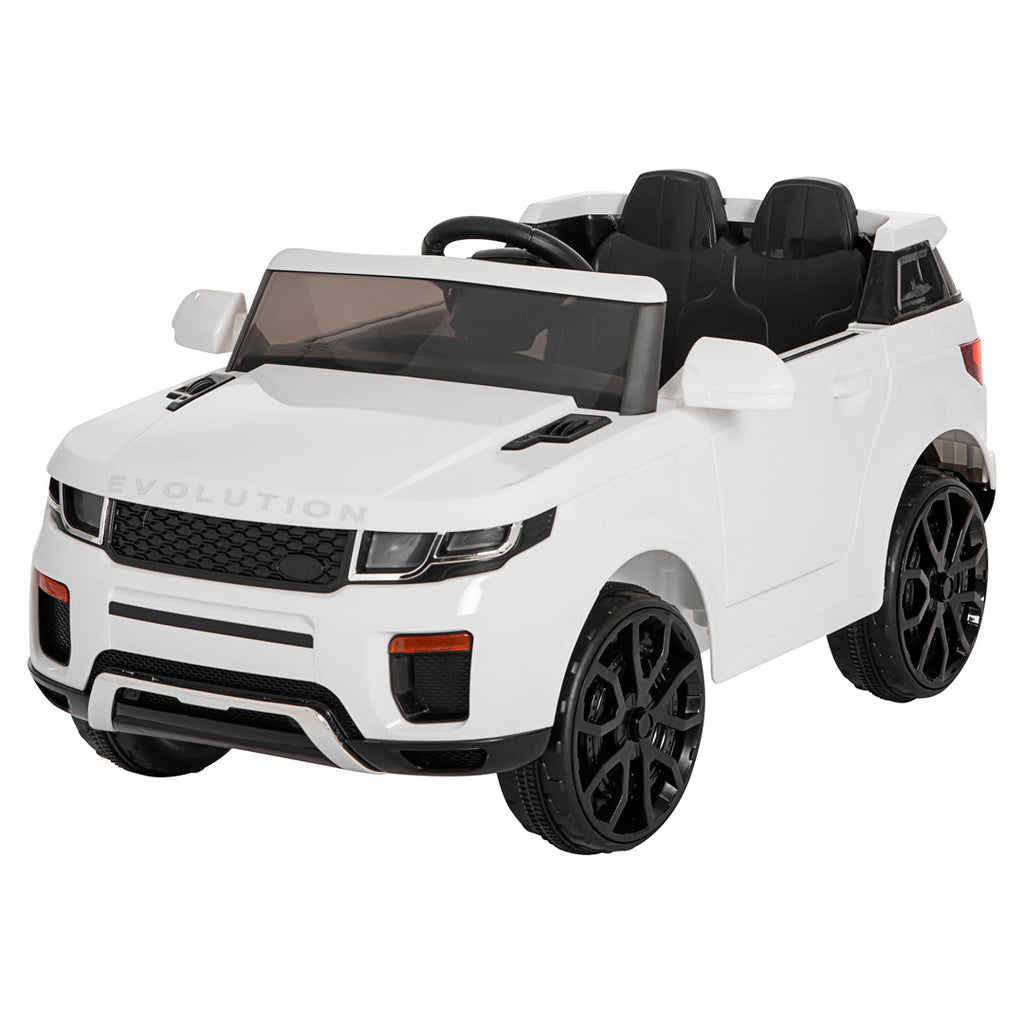 Demo 12V Evoque replica kids electric ride on car- Wht