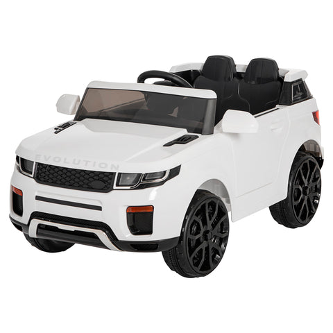 Image of 12V Evoque replica kids ride on car- Wht