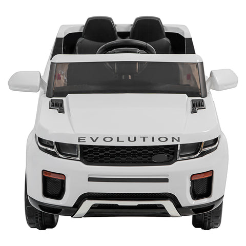 Image of Demo 12V Evoque replica kids electric ride on car- Wht