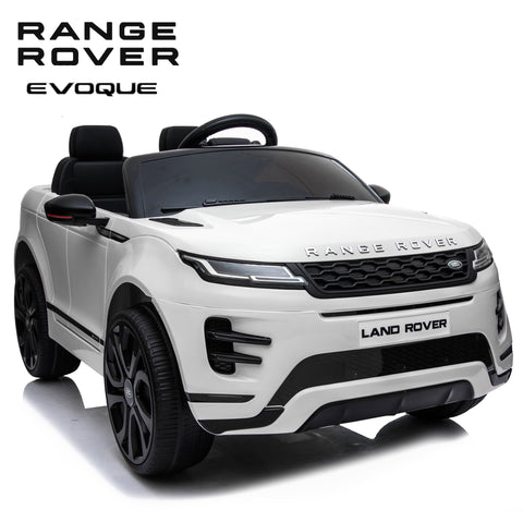 NEW 2020 Range Rover Evoque coupè kids ride on car - White