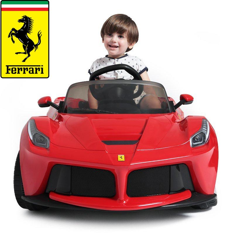 12V Ferrari kids ride on car - SA SCOOTER SHOP