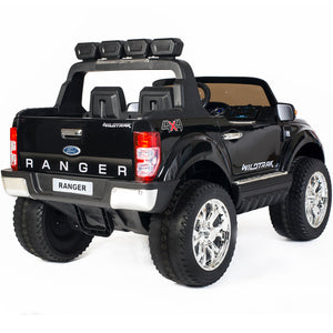 Demo Ford Ranger F650 (Black) ride on car, 4 Wheel drive and Rubber tyres