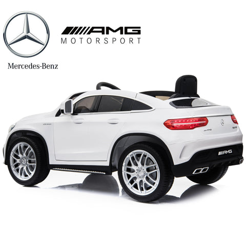 Image of Demo 12V Mercedes AMG GLE63 Kids electric Ride on car