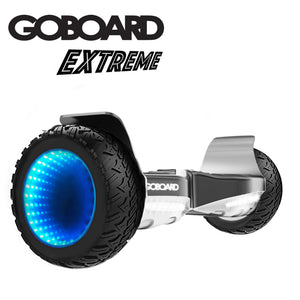 Goboard Extreme - the All-terrain LED infinity wheels Hoverboard