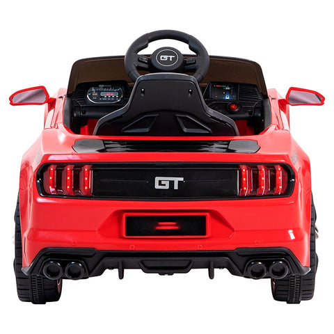 Image of 12V Mustang replica kids muscle ride on car, with remote control