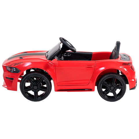 Demo 12V Mustang replica kids electric muscle ride on car, with remote control