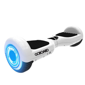 GoBoard Infinity wheels -Bluetooth Hoverboard White