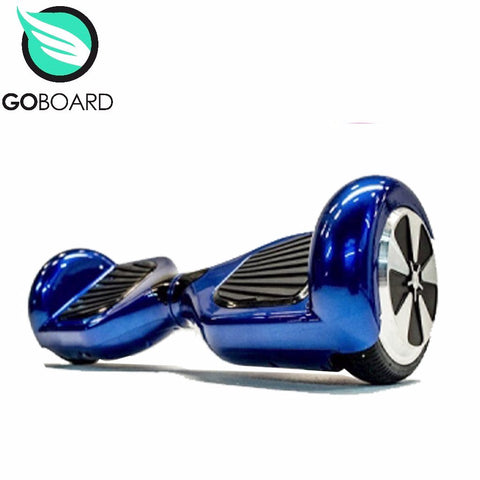 DEMO GoBoard 2.0 Hoverboard -Chrome Blue HOVERBOARDS- SA SCOOTER SHOP