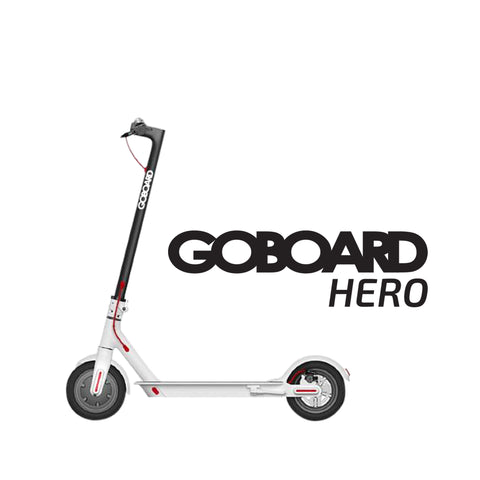 Image of Goboard Hero - Ultralight Lithium electric scooter-WHT- 7.8AH Battery  25Km range