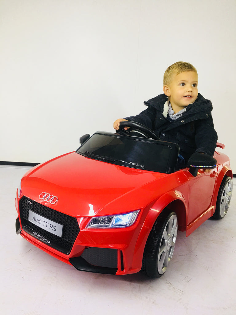DEMO Audi TT kids ride on car - SA SCOOTER SHOP