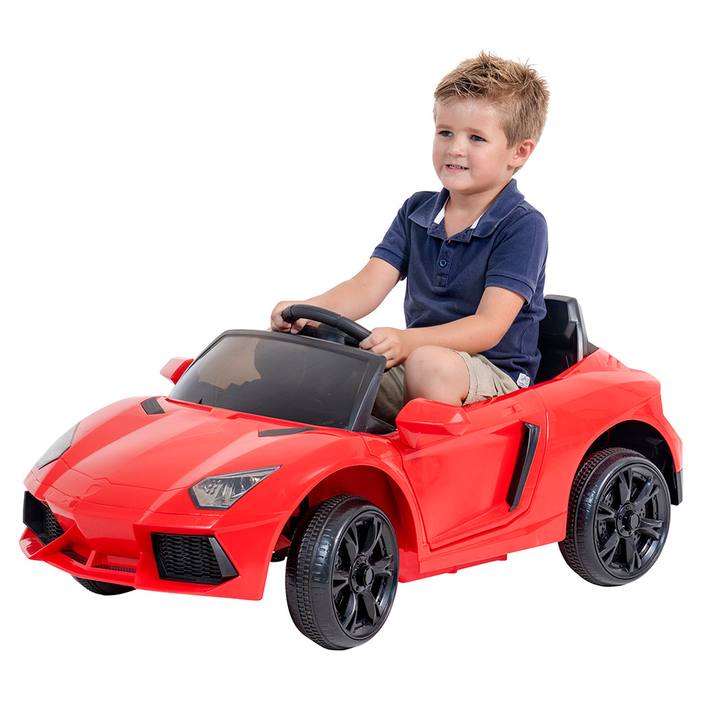 Sporty Lambo Kids electric ride on car