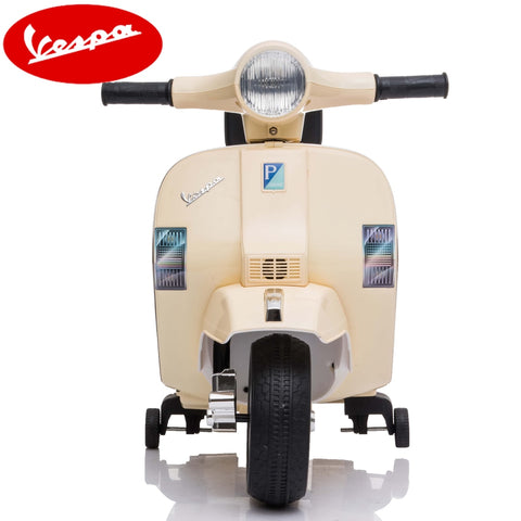 Little Vespa PX150 kids ride on- Cream