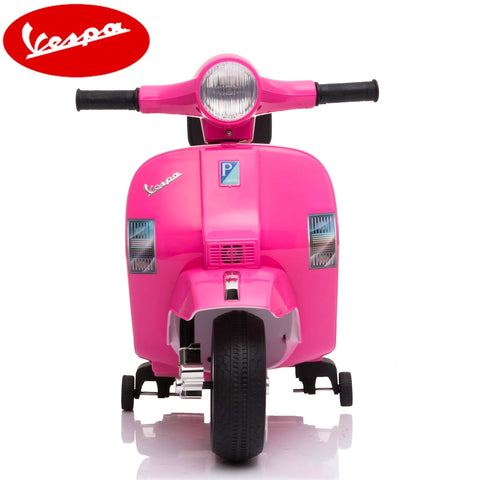 Image of Little Vespa PX150 kids ride on- pink