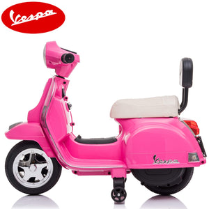 Little Vespa PX150 kids ride on- pink