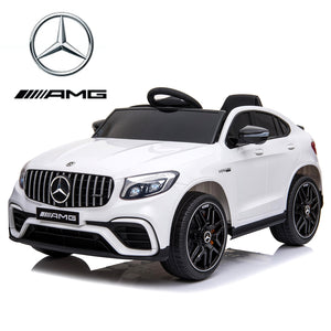 12V Mercedes GLC63S Coupe kids electric ride on car