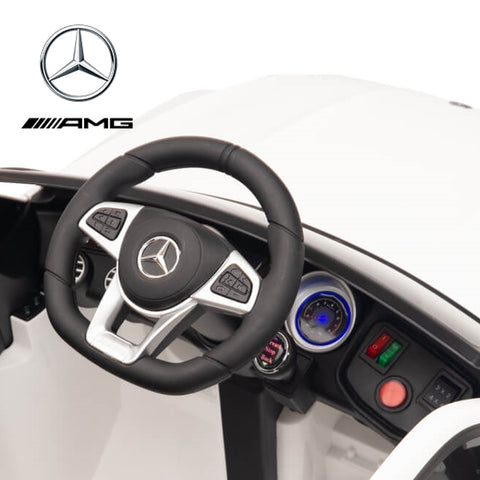 Demo 12V Mercedes GLC63S Coupe kids electric ride on car