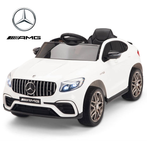 Image of Demo 12V Mercedes GLC63S Coupe kids electric ride on car