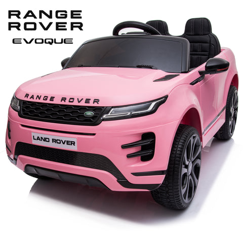 NEW 2020 Range Rover Evoque coupè kids ride on car - Pink