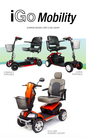 IGO Mobility scooter catalogue - FREE