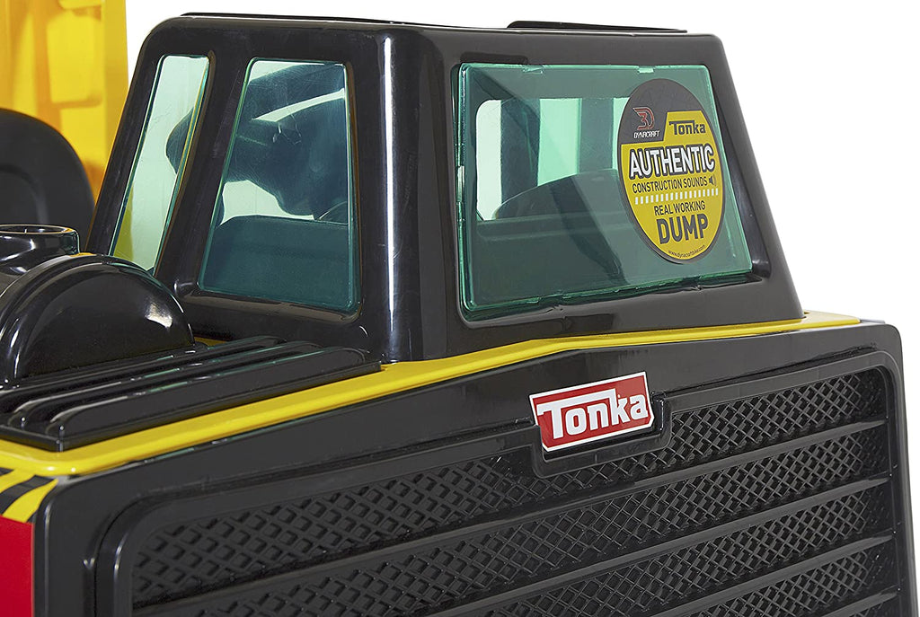 Tonka Truck - 2 seater kids construction ride on car truck