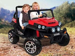 24V Dune Buggy 2 seater rubber tyres -kids ride on car - SA SCOOTER SHOP