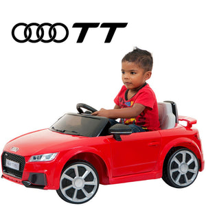 DEMO Audi TT kids electric ride on car