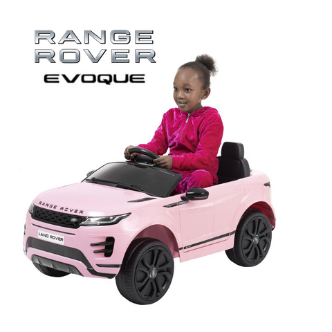 Image of NEW 2020 Range Rover Evoque coupè kids ride on car - Pink