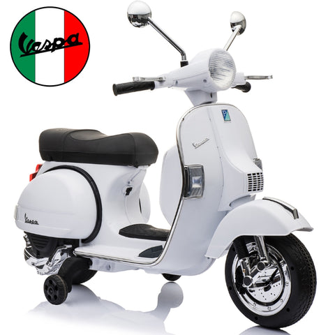 Image of Vespa PX150 kids ride on motorcycle