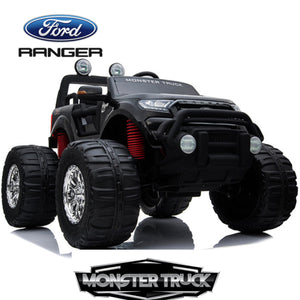 Demo Ford Monster truck kids ride on car (Black) ride on car, 4 Wheel drive and Rubber tyres