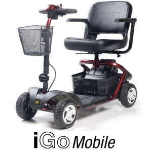 Demo iGo Mobile 4 Mobility scooter- NAPPI CODE: - 243517001