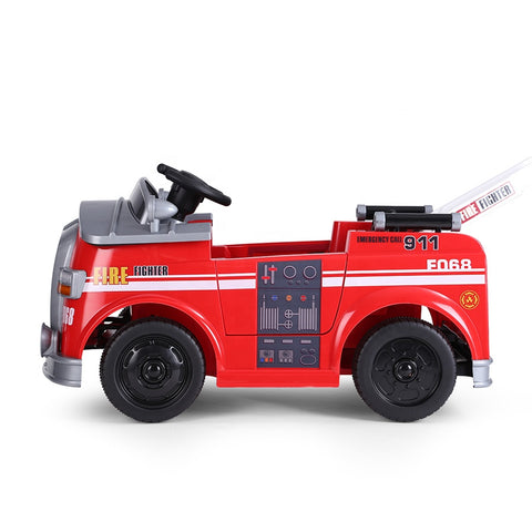 Image of Demo Paw Patrol Fire Truck replica ride on car