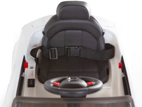 Image of Demo C Class replica 12V Battery Powered Kids Ride on Car White with Parental Control