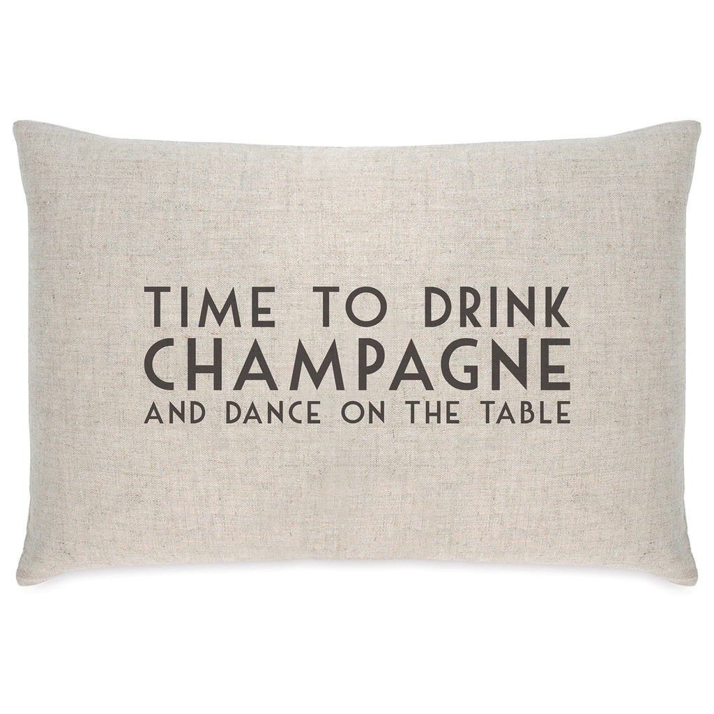 East of India Drink Champagne Long Cushion