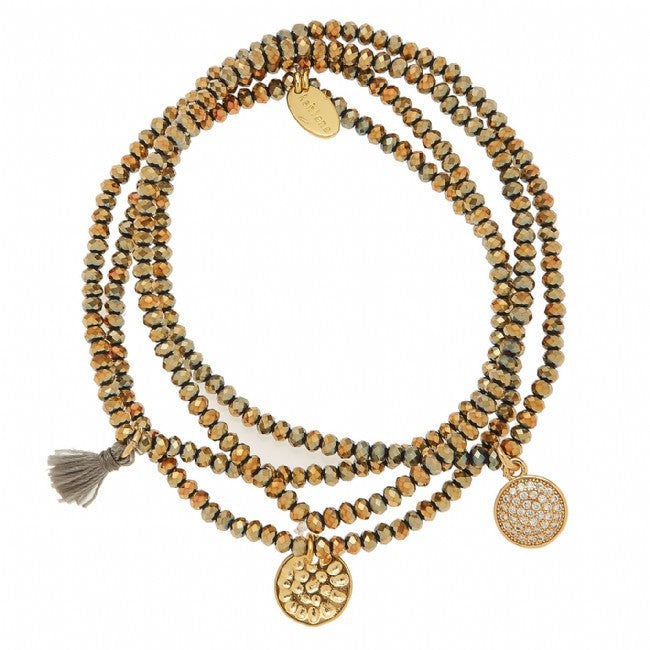Shine Bright Bracelet Gold
