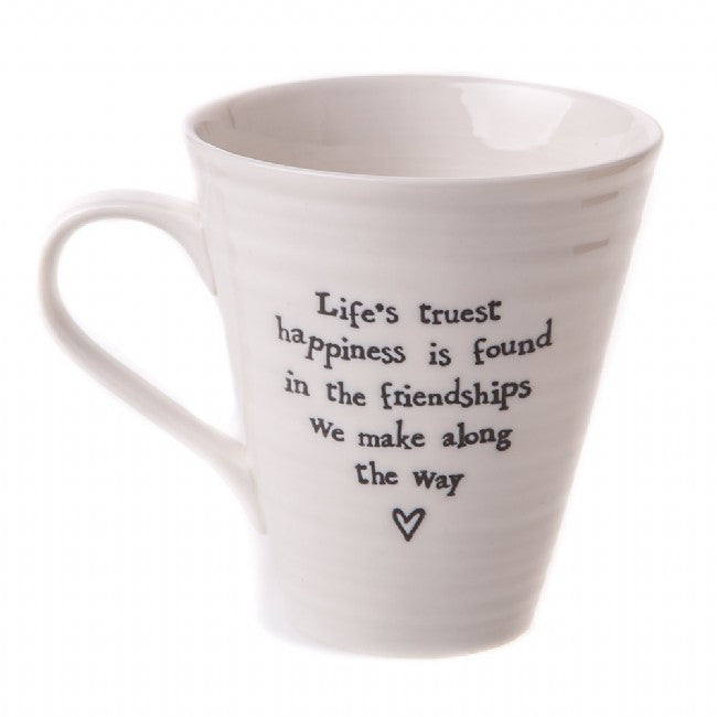 East of India Life's Truest Porcelain Mug