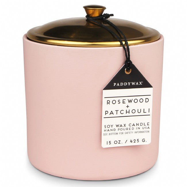 Paddywax Hygge Candle - Rosewood & Patchouli