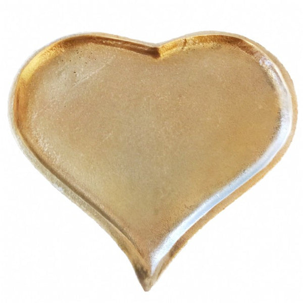 Libra Elements Heart Plate Gold