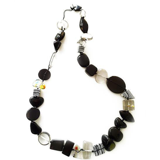 Jackie Brazil Long Multi Bead Indiana Necklaces