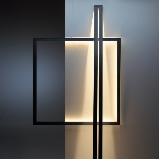 Jacco Maris - Framed Leaning Floor Lamp