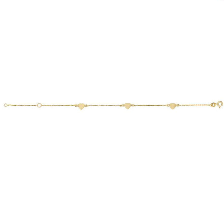 Nordahl Love Gold Plated Bracelet