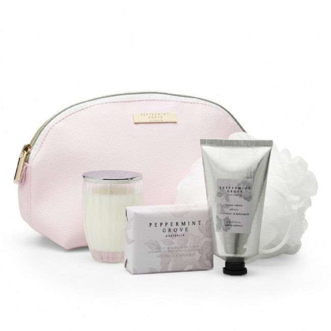 Peppermint Grove Beauty Bag - Patchouli & Bergamot