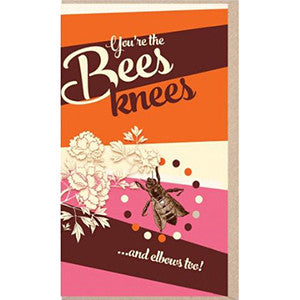 Pulp You're the Bees Knees Card