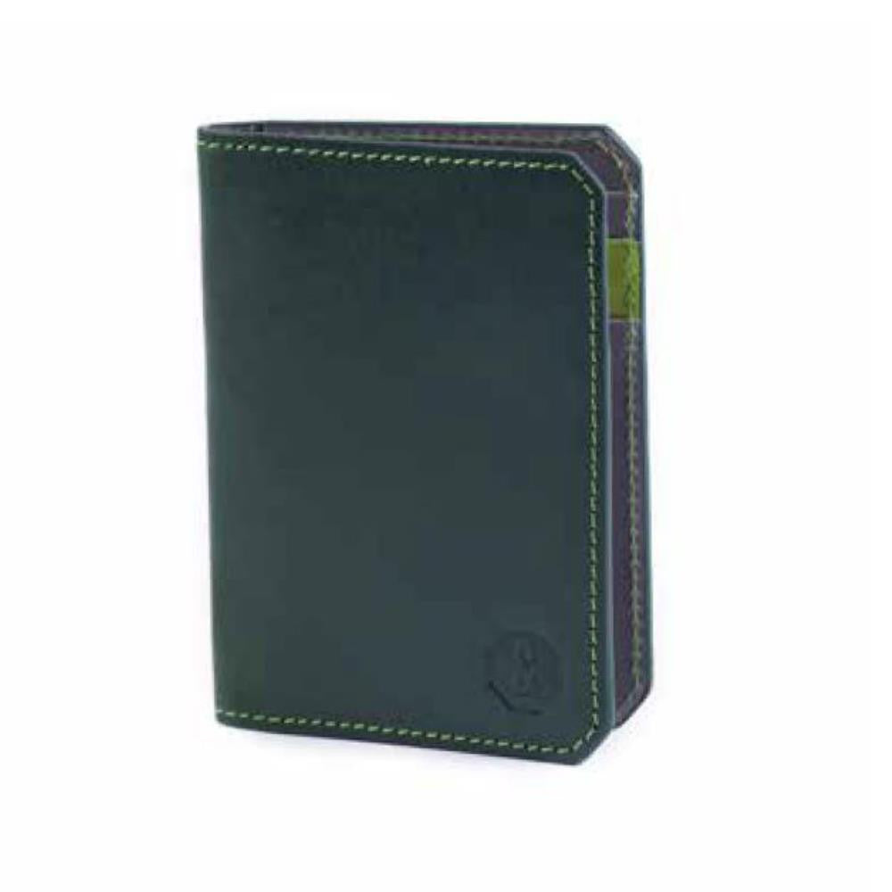 Banvard & James Thorpe Card Wallet, Green