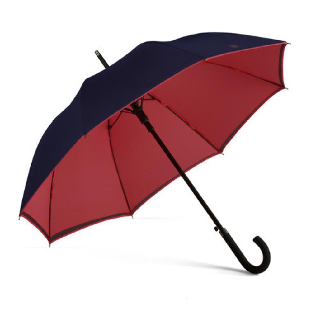 Walker Umbrella - Navy/Berry