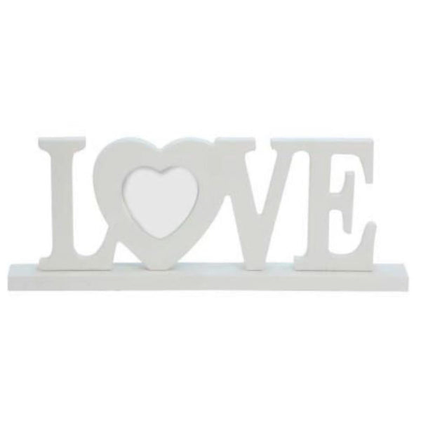 Love Wooden Picture Frame Ornament